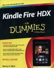 Kindle Fire HDX For Dummies, Muir, Nancy C., Good Condition, Book