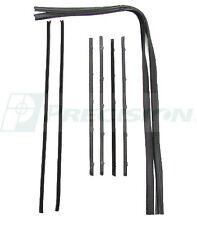 NEW Precision Beltline Molding & Glassrun Kit / FOR 1967-72 CHEVY TRUCK SUBURBAN