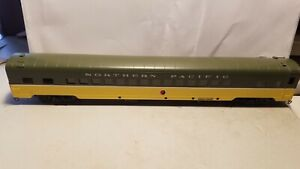 BRASS AWE NORTHERN PACIFIC 56 SEAT COACH WITH LEG REST.