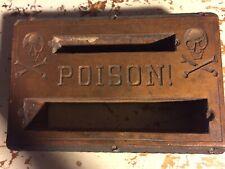 Wood Printing Letterpress Printers Block Poison