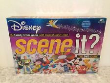 DISNEY SCENE IT? THE DVD GAME FIRST EDITION MATTEL GAMES INCOMPLETE