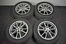 "4 x Genuine OE 18"" Porsche Cayenne Alloy Wheels With Tyres"