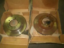 NEW FORD 1993 FORD BRONCO FRONT DISC BRAKE ROTORS PAIR