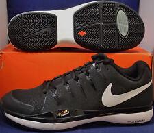 Nike Zoom Vapor 9.5 Tour White Black Roger Federer SZ 9.5 ( 631458-011 )