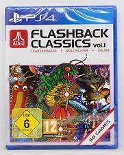 ATARI FLASHBACK CLASSICS VOL. 1 PLAYSTATION 4 PS4 PLAY STATION PAL ESPAÑA NUEVO