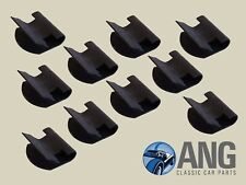 TRIUMPH SPITFIRE, GT6, STAG, HERALD SEAT COVER EDGE FITTING CLIPS x 10 (GHF1500)