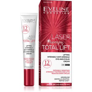 Eveline Laser Therapy Total Lifting Eye&Eyelid Smoothed Anti-Wrinkle Cream 20ml