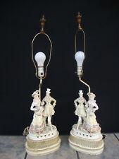 ANTIQUE GORGEOUS VICTORIAN STYLE PORCELAIN TABLE LAMP