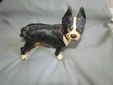 Antique Cast Iron Boston Terrier Dog