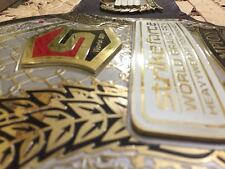MMA UFC Rare Hand Made Strikeforce Grand Prix championship replica belt 51''