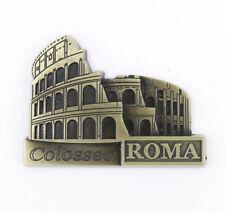 "3D Metal Fridge Magnet ""Colosseo Rome"" Travel Souvenir Gift New High Quality"