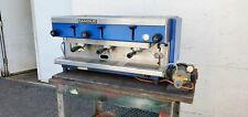 Used Rancilio Z9 3 Group Lever Style Semi Automatic Espresso Machine 220 V