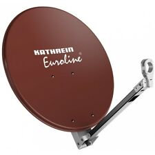Kathrein KEA 750/R Rot-Braun Sat Schüssel LNB Empfang Antenne