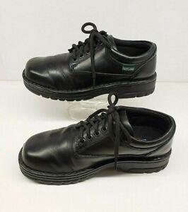 EASTLAND Plainview Black Leather Oxford Lace Up Shoe Women's Size US 8.5M