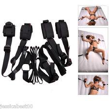 Hot-SM-Bed-Bondage-Restraint-System-Handcuffs-Restraints-Fetish-Adult-Sex-Toy