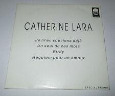Catherine Lara - je m'en souviens déjà - cd promo 4 titres 1994