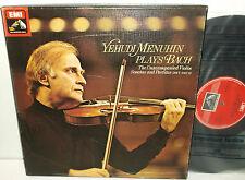 SLS 5045 Bach Unaccompanied Violin Sonatas & Partitas Yehudi Menuhin 3LP Box Set