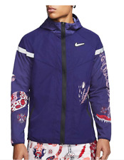 Nike Windrunner Wild Run Running Jacket - Men's Small $120.00 CJ5820 521 Purple