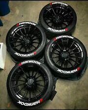 letras de neumáticos etiqueta engomada del neumático Hankook