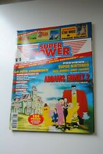 SUPER POWER  N° 5 MAGAZINE JANVIER 1993 NINTENDO SEGA CONSOLE ZELDA 3 PLAN