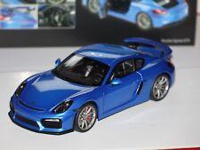 Porsche Cayman GT4 blau metallic 1:18 Schuco 4020 neu & OVP