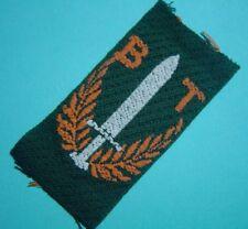 NEDERLANDS INDIË 1947 - mouwembleem BEWAKINGS TROEPEN / KNIL / Dutch Indies