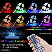 1m-30m set RGB LED Stripe Streifen Wasserdicht Leiste Band Leuchte Lichterkette