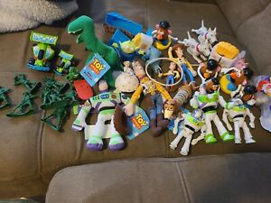 Vintage Toy Story Figures Lot