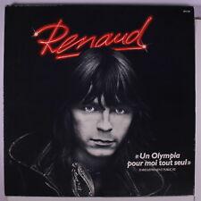 RENAUD: Un Olympia Pour Moi Tout Seul Enregistrement Public 82 LP (France, 2 LP
