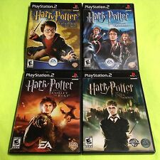 PS2 Harry Potter And The Goblet of Fire Order Pheonix Chamber Secrets Prisoner