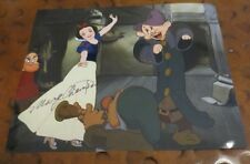 Marge Champion Disney model 1937 Snow White & Seven Dwarves autographed photo