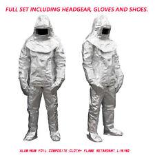 1000°C Thermal Radiation Heat Resistant Aluminized Suit Fireproof Cloth sharelov