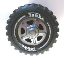 "vintage Tonka  truck toy tire 2 1/2"" 5 triangle hub 3/4"" wide"