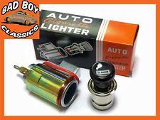 12v Clásico Retro estilo cigarrillo más ligero, Socket Iluminado Land Rover Defender