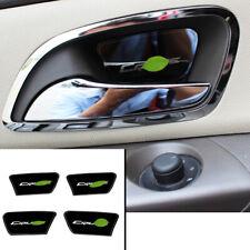 FOR Chevrolet Cruze 10-2015 Tungsten steel black Interior door bowl sticker trim