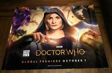 BBC AMERICA TV DOCTOR WHO 2018 5FT SUBWAY POSTER Jodie Whittaker 13TH DOCTOR