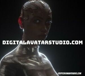 DIGITALAVATARSTUDIO.COM DOMAIN NAME Emerging Digital Technology Hologram Art