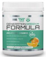 Generation Greens Powder | Best Organic Superfood Green Powder Delicious Orange