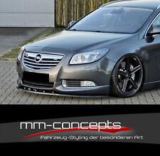 CUP Spoilerlippe für Opel Insignia OPC Line Frontspoiler Spoilerschwert Lippe IN