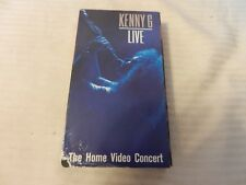 Kenny G Live in Concert (VHS, 1989)