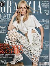 Grazia 2016 24.Kate Bosworth,Ornella Vanoni,Kate Moss,Melissa Satta,Elle Fanning