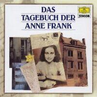 ANNE FRANK - DAS TAGEBUCH DER ANNE FRANK (JUNIOR)  CD  HÖRBUCH    NEU