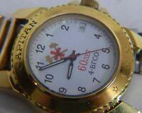 Vostok Wostok CAPITAN mechanical Watch Date Russian 17 jewels 2414A caliber