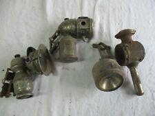 lot de 4 lampe de vélo ancienne.
