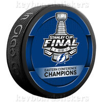 2020 Tampa Bay Lightning Eastern Conference Champions Stanley Cup Final Puck