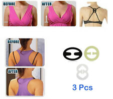 Adjustable Bra Strap Clip Cleavage Control + Invisible Transparent Bra Straps