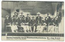 Señora-tromperter-Corps-Renania - Mecklemburgo Düsseldorf Zwickau 1929