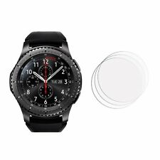 2 x New Samsung Gear S3 Frontier High Quality Screen Cover Guard Film