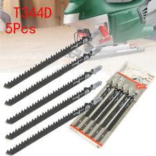 5pcs 6T T-Shank Jigsaw Blades for Wood Plastics Board Fast Cutting Cutter Tools