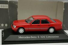 Herpa 1/43 - Mercedes Classe E 320 w124 Rouge